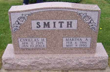 SMITH, MARTHA A. - Stark County, Ohio | MARTHA A. SMITH - Ohio Gravestone Photos