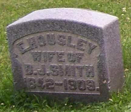 HOUSLEY SMITH, E. - Stark County, Ohio | E. HOUSLEY SMITH - Ohio Gravestone Photos