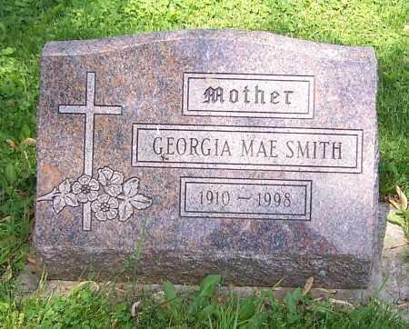 SMITH, GEORGIA MAE - Stark County, Ohio | GEORGIA MAE SMITH - Ohio Gravestone Photos