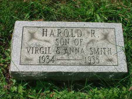 SMITH, HAROLD R - Stark County, Ohio | HAROLD R SMITH - Ohio Gravestone Photos
