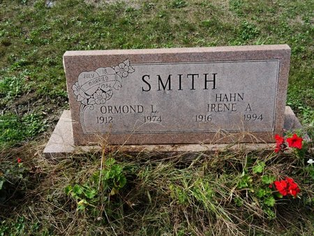 HAHN SMITH, IRENE A. - Stark County, Ohio | IRENE A. HAHN SMITH - Ohio Gravestone Photos