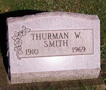 SMITH, THURMAN W. - Stark County, Ohio | THURMAN W. SMITH - Ohio Gravestone Photos