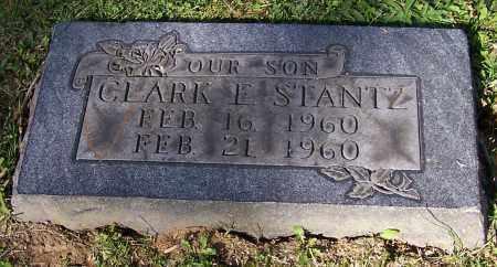 STANTZ, CLARK E. - Stark County, Ohio   CLARK E. STANTZ - Ohio Gravestone Photos