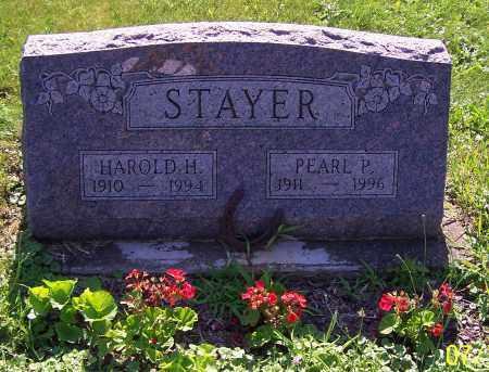 STAYER, HAROLD H. - Stark County, Ohio | HAROLD H. STAYER - Ohio Gravestone Photos