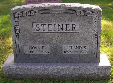 STEINER, LELAND S. - Stark County, Ohio | LELAND S. STEINER - Ohio Gravestone Photos