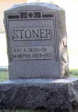 ROYER STONER, MARTHA - Stark County, Ohio | MARTHA ROYER STONER - Ohio Gravestone Photos