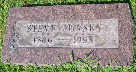 TURSKY, STEVE - Stark County, Ohio | STEVE TURSKY - Ohio Gravestone Photos