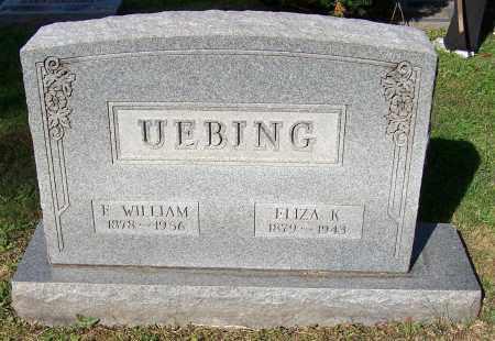 UEBING, F.WILLIAM - Stark County, Ohio   F.WILLIAM UEBING - Ohio Gravestone Photos