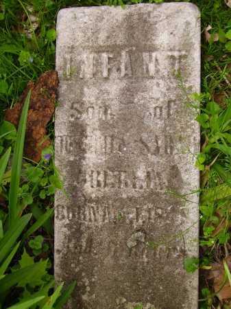 UNKNOWN, INFANT SON - Stark County, Ohio | INFANT SON UNKNOWN - Ohio Gravestone Photos
