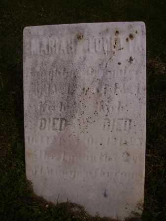 UNKNOWN, MARIAH - Stark County, Ohio | MARIAH UNKNOWN - Ohio Gravestone Photos