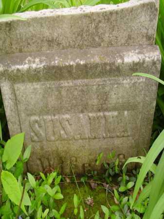 UNKNOWN, SUSANNA WIFE OF - Stark County, Ohio | SUSANNA WIFE OF UNKNOWN - Ohio Gravestone Photos