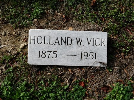 VICK, HOLLAND W. - Stark County, Ohio | HOLLAND W. VICK - Ohio Gravestone Photos