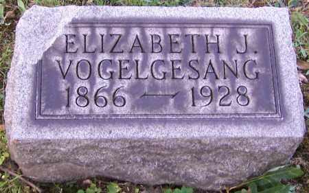 VOGELGESANG, ELIZABETH J. - Stark County, Ohio | ELIZABETH J. VOGELGESANG - Ohio Gravestone Photos