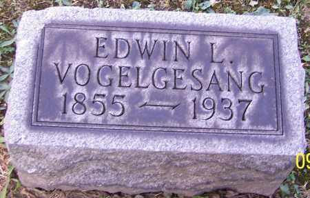 VOGELGESANG, EDWIN L. - Stark County, Ohio | EDWIN L. VOGELGESANG - Ohio Gravestone Photos