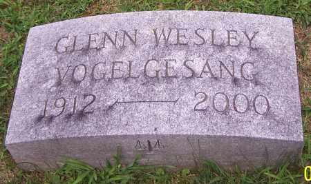 VOGELGESANG, GLENN WESLEY - Stark County, Ohio | GLENN WESLEY VOGELGESANG - Ohio Gravestone Photos