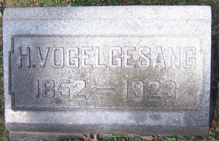 VOGELGESANG, H. - Stark County, Ohio   H. VOGELGESANG - Ohio Gravestone Photos