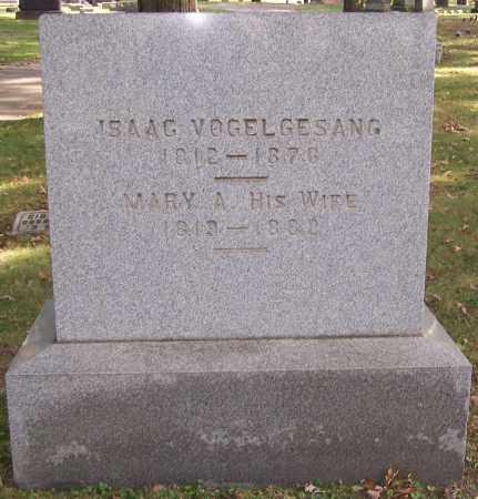 VOGELGESANG, MARY A. - Stark County, Ohio   MARY A. VOGELGESANG - Ohio Gravestone Photos
