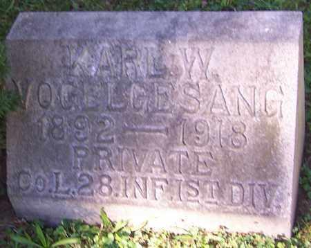 VOGELGESANG, KARL W. - Stark County, Ohio | KARL W. VOGELGESANG - Ohio Gravestone Photos