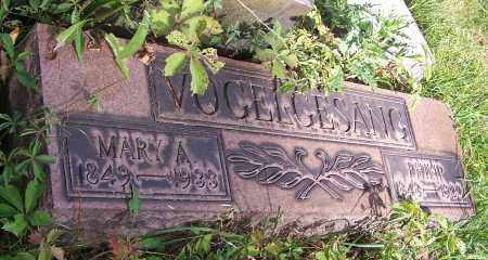 VOGELGESANG, MARY A. - Stark County, Ohio | MARY A. VOGELGESANG - Ohio Gravestone Photos