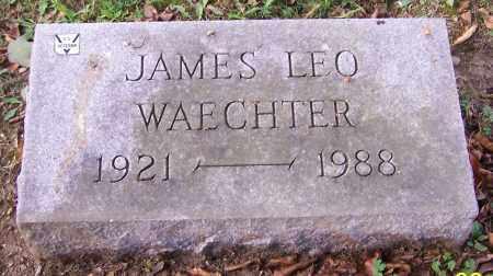 WAECHTER, JAMES LEO - Stark County, Ohio   JAMES LEO WAECHTER - Ohio Gravestone Photos