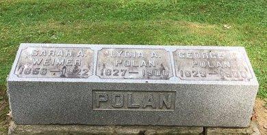 POLAN, LYDIA A. - Stark County, Ohio | LYDIA A. POLAN - Ohio Gravestone Photos