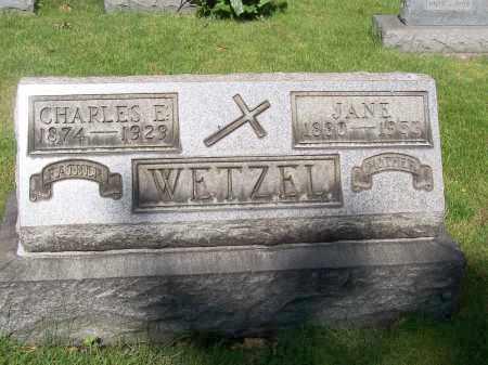 WETZEL, CHARLES E. - Stark County, Ohio | CHARLES E. WETZEL - Ohio Gravestone Photos