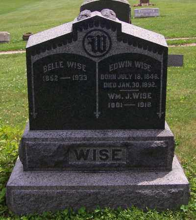 WISE, WM. J. - Stark County, Ohio | WM. J. WISE - Ohio Gravestone Photos