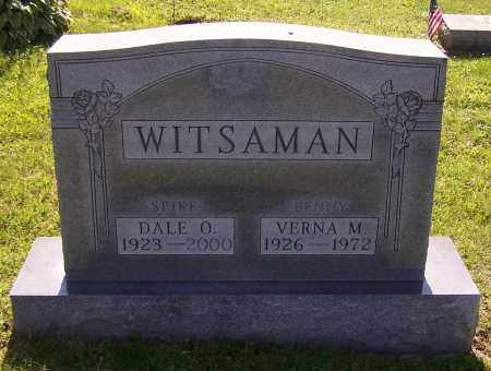 WITSAMAN, DALE O. - Stark County, Ohio   DALE O. WITSAMAN - Ohio Gravestone Photos