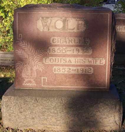 WOLF, CHARLES - Stark County, Ohio   CHARLES WOLF - Ohio Gravestone Photos