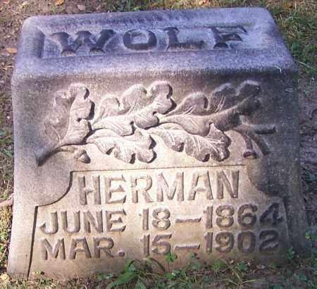WOLF, HERMAN - Stark County, Ohio   HERMAN WOLF - Ohio Gravestone Photos