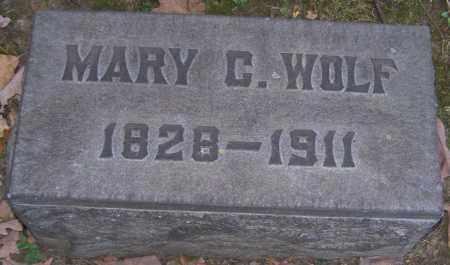 WOLF, MARY C. - Stark County, Ohio | MARY C. WOLF - Ohio Gravestone Photos