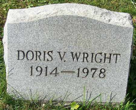WRIGHT, DORIS V. - Stark County, Ohio   DORIS V. WRIGHT - Ohio Gravestone Photos