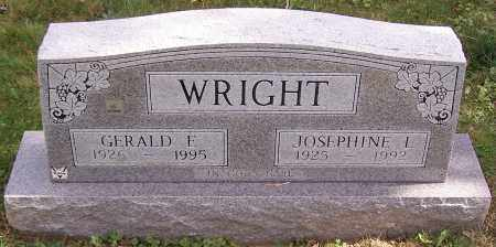 WRIGHT, JOSEPHINE L. - Stark County, Ohio | JOSEPHINE L. WRIGHT - Ohio Gravestone Photos