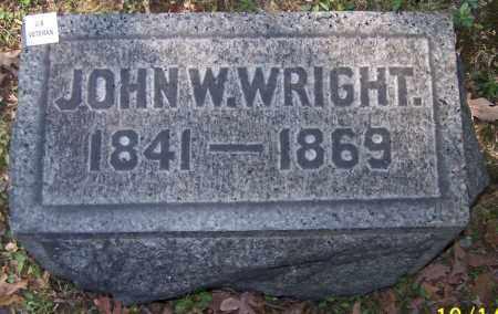 WRIGHT, JOHN W. - Stark County, Ohio | JOHN W. WRIGHT - Ohio Gravestone Photos
