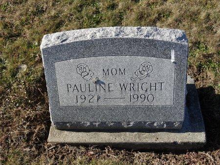 WRIGHT, PAULINE - Stark County, Ohio   PAULINE WRIGHT - Ohio Gravestone Photos