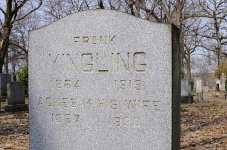 YINGLING, AGNES - Stark County, Ohio | AGNES YINGLING - Ohio Gravestone Photos