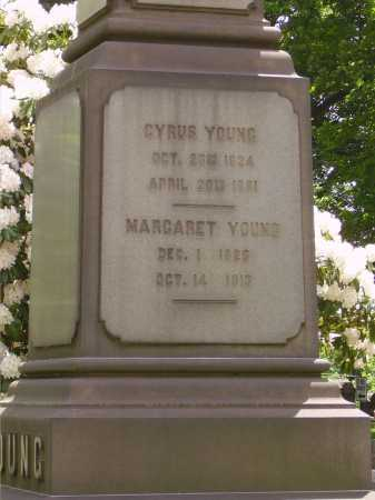 YOUNG, CYRUS - CLOSEVIEW - Stark County, Ohio   CYRUS - CLOSEVIEW YOUNG - Ohio Gravestone Photos