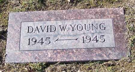 YOUNG, DAVID W. - Stark County, Ohio   DAVID W. YOUNG - Ohio Gravestone Photos