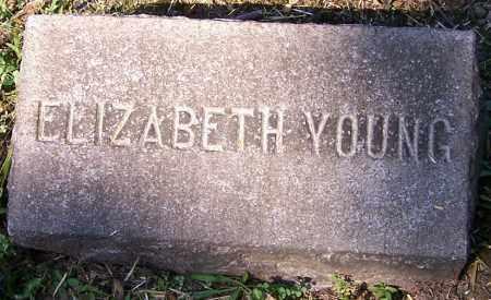 YOUNG, ELIZABETH - Stark County, Ohio | ELIZABETH YOUNG - Ohio Gravestone Photos