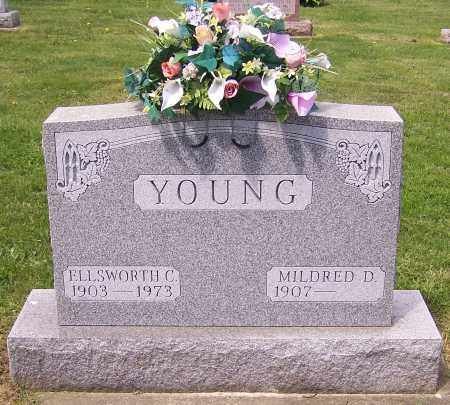 YOUNG, MILDRED D. - Stark County, Ohio | MILDRED D. YOUNG - Ohio Gravestone Photos