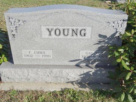 YOUNG, F. EMMA - Stark County, Ohio | F. EMMA YOUNG - Ohio Gravestone Photos