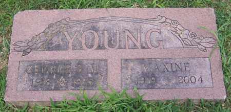 YOUNG, MAXINE - Stark County, Ohio | MAXINE YOUNG - Ohio Gravestone Photos