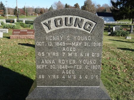 YOUNG, HENRY S. - Stark County, Ohio   HENRY S. YOUNG - Ohio Gravestone Photos