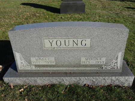 YOUNG, MYRON R. - Stark County, Ohio   MYRON R. YOUNG - Ohio Gravestone Photos