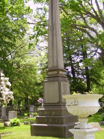 YOUNG, MONUMENT - Stark County, Ohio | MONUMENT YOUNG - Ohio Gravestone Photos