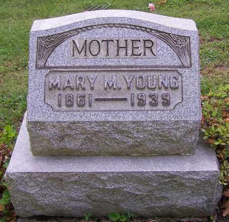 YOUNG, MARY M. - Stark County, Ohio | MARY M. YOUNG - Ohio Gravestone Photos