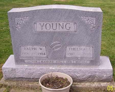 YOUNG, THELMA L. - Stark County, Ohio | THELMA L. YOUNG - Ohio Gravestone Photos