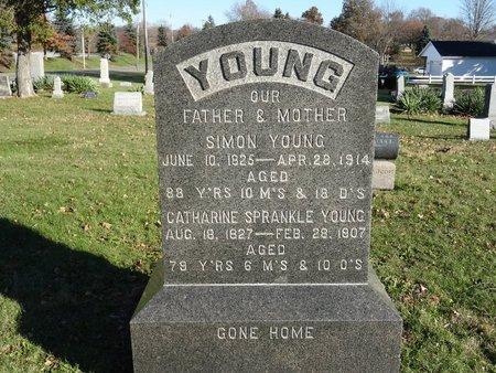 YOUNG, SIMON - Stark County, Ohio   SIMON YOUNG - Ohio Gravestone Photos