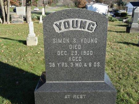 YOUNG, SIMON S. - Stark County, Ohio   SIMON S. YOUNG - Ohio Gravestone Photos