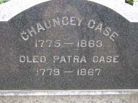 HAYES CASE, CLEO PATRA - Summit County, Ohio | CLEO PATRA HAYES CASE - Ohio Gravestone Photos